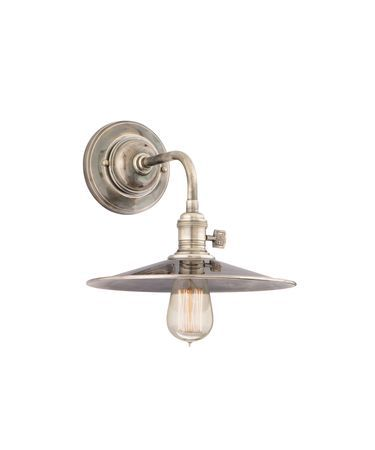 Hudson Valley 8000ms Heirloom 10 Inch Wall Sconce Wall Lights Barn Lighting Vintage Wall Sconces