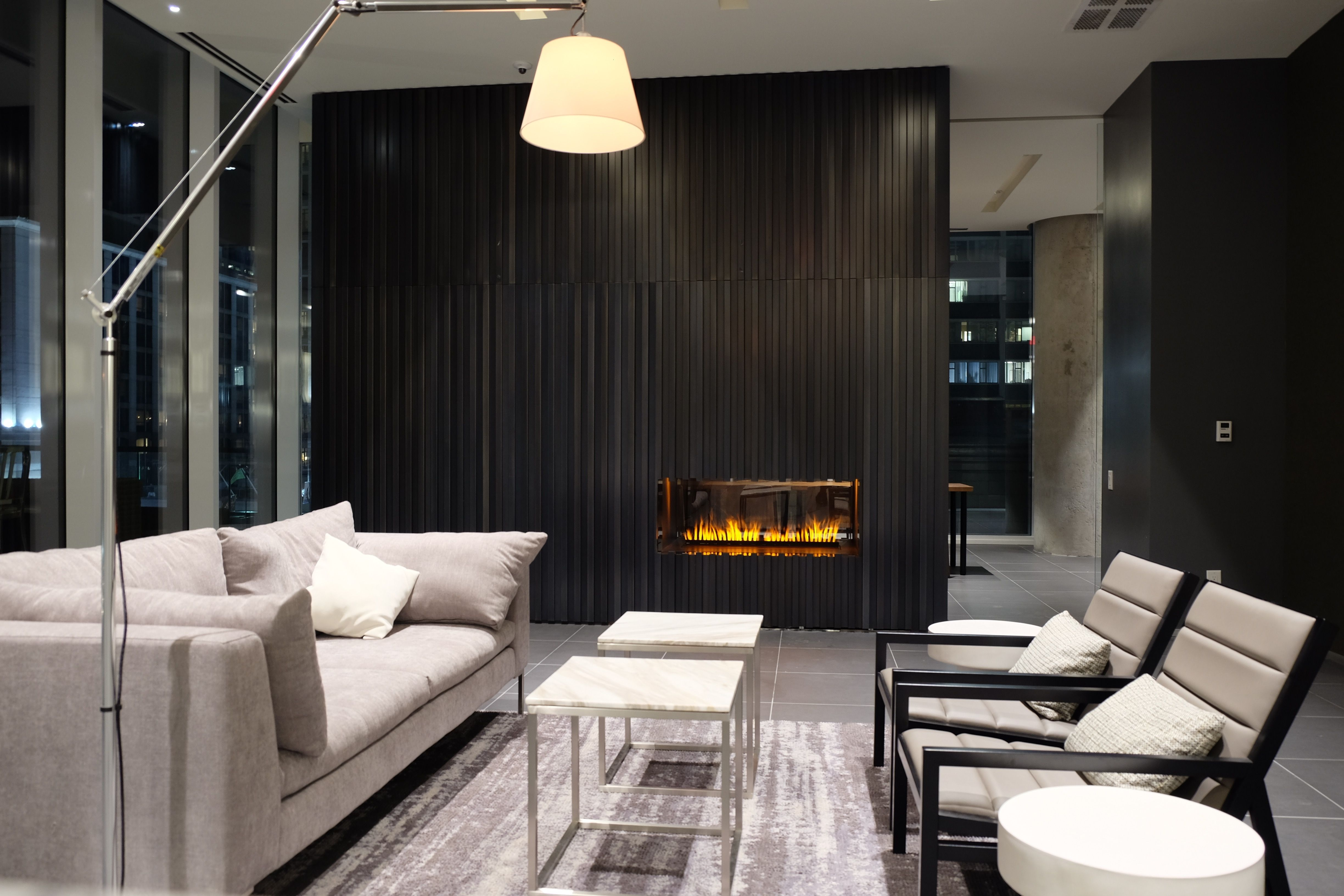 nero fire design see through fireplace opti myst burner by dimplex