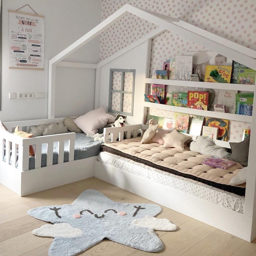 Chambre Lit Cabane Tapis Lavable Machin Lorena Canals Blog Deco Clem Around The Corner Chambre Pour Lit Enfant Design Chambre Pour Deux Enfants Chambre Lit