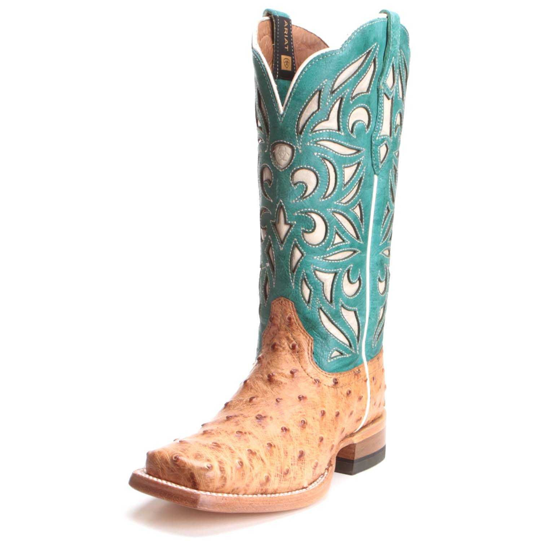 73d4a93223b Ariat Womens Carmencita Full Quill Ostrich Boots 10025019 in 2019 ...