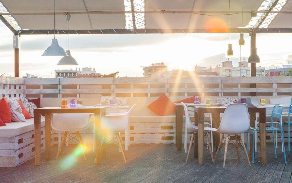 Decoración Arquitectura Terraza Restaurante Exteriores