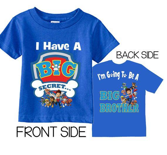 Big Brother shirtMatching Big brother shirtBig brother revealbirth announcement