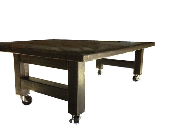 sale casters with oversized metal coffee table legs set