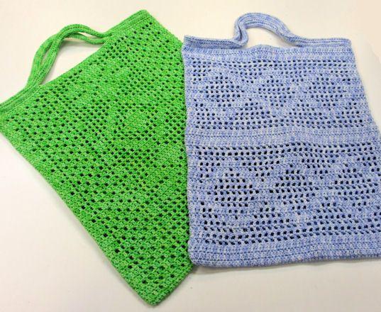 Crochet bags!