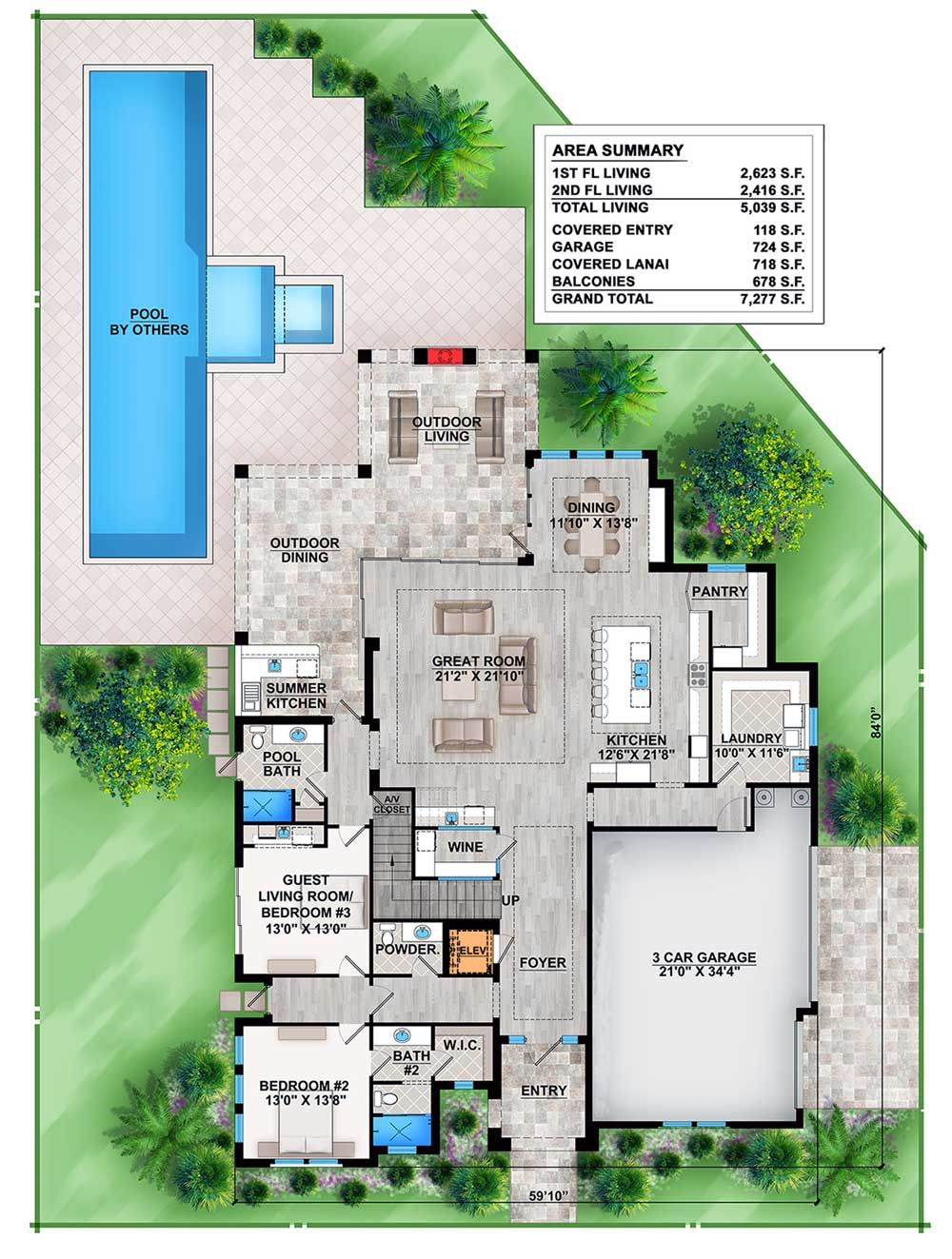 Good Kitchen And Laundry Layout.