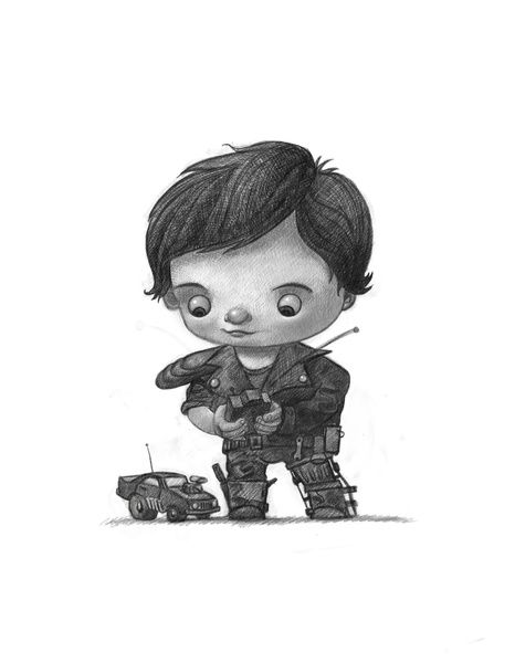 Cute Mad Max Art Print