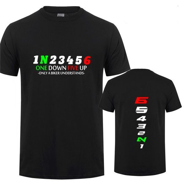 Biker 1n23456 Motorcycle T Shirt Men Jersey In 2020 Funny Tee