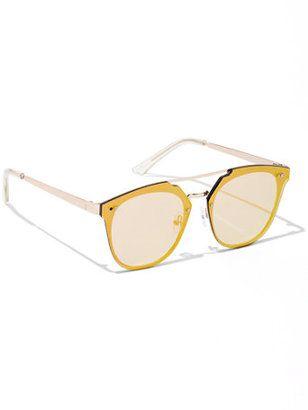 893a2b821a9 Brow Bar Shield Frame Sunglasses  sunglasses  womens  summer ...