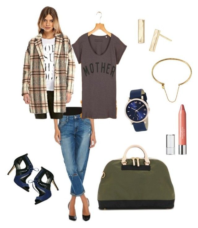 """""""Mom @ Mommies Happy Hour"""" by emily-baynard on Polyvore featuring Fashion Union, Neutrogena, Phyllis + Rosie and Marc Jacobs"""