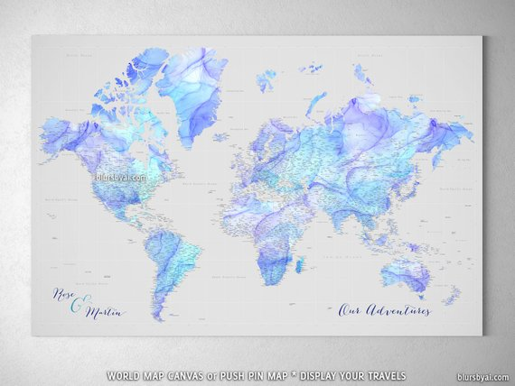 Highly detailed world map push pin, gift for newlyweds ... on world map tester, world map costume, world map dresses, world map size, world map vintage, world map modern, world map business, world map gold, world map bedroom decor, world map retail, world map illustrator, world map cook, world map color, world map creator, world map sports, world map rain, world map photography, world map teacher, world map design, world map name,