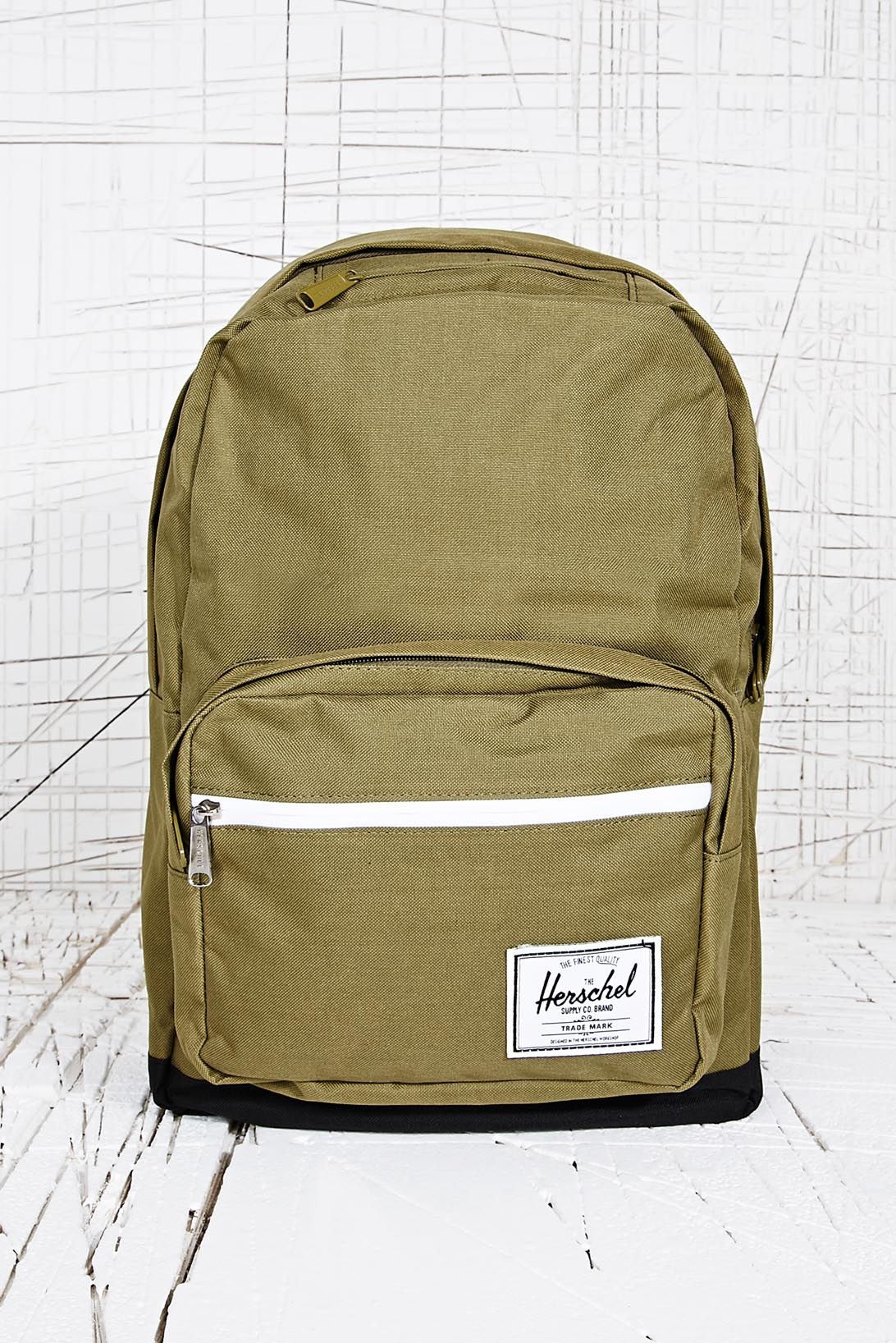 ab3a89c9d38bb Herschel supply co. Pop Quiz Army Backpack in Green for Men (Moss)