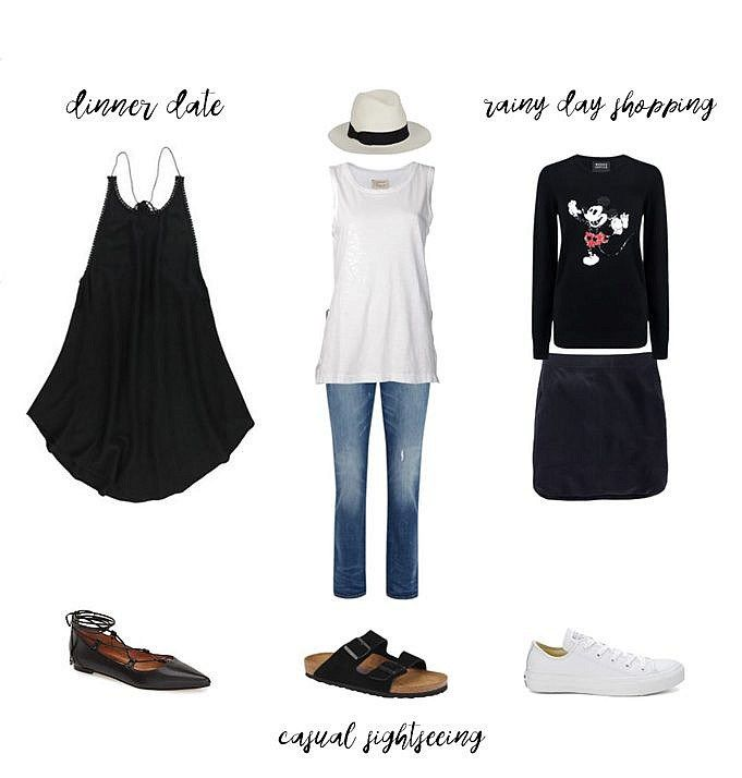 02cb7736c8b2 How to pack 2 weeks of outfits into one carry on suitcase! A travel capsule  wardrobe for summer sightseeing in Japan.