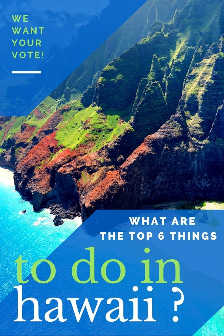 We want to see what your favorite thing to do in Hawaii is!