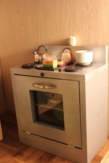 Made Pieces For Reese 18 Inch Doll Kitchen Part 3 Stove For My
