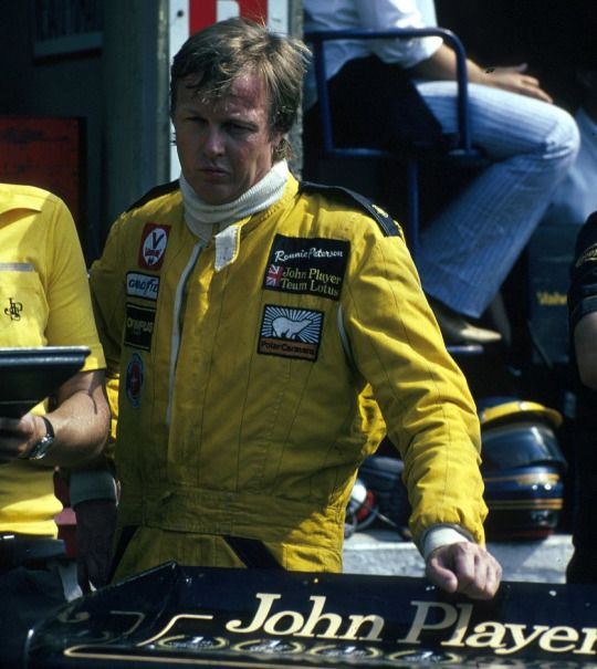Ronnie Peterson (Lotus-Ford) Grand Prix d'Italie - Monza 1978