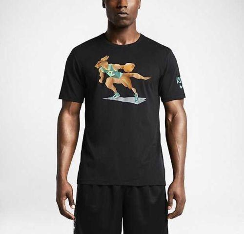 ec46ca5a6caceb NWT NIKE KYRIE IRVING BOOMER (Kangaroo) Sz X-Large DRI FIT t shirt  698682-010 XL  Nike  EmbellishedTee
