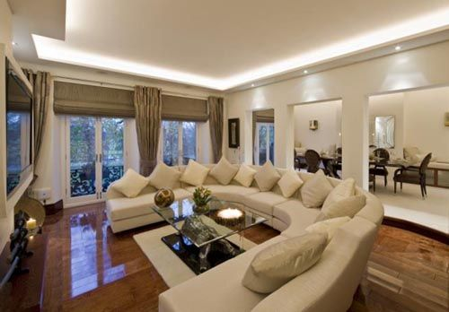 Circular Couch Interior Decorating Living Room Big Living Rooms Luxury Living Room