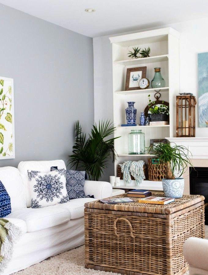 Sweet Beach House Interior Ideas Pinterest Coastal Living Rooms Decorating Room