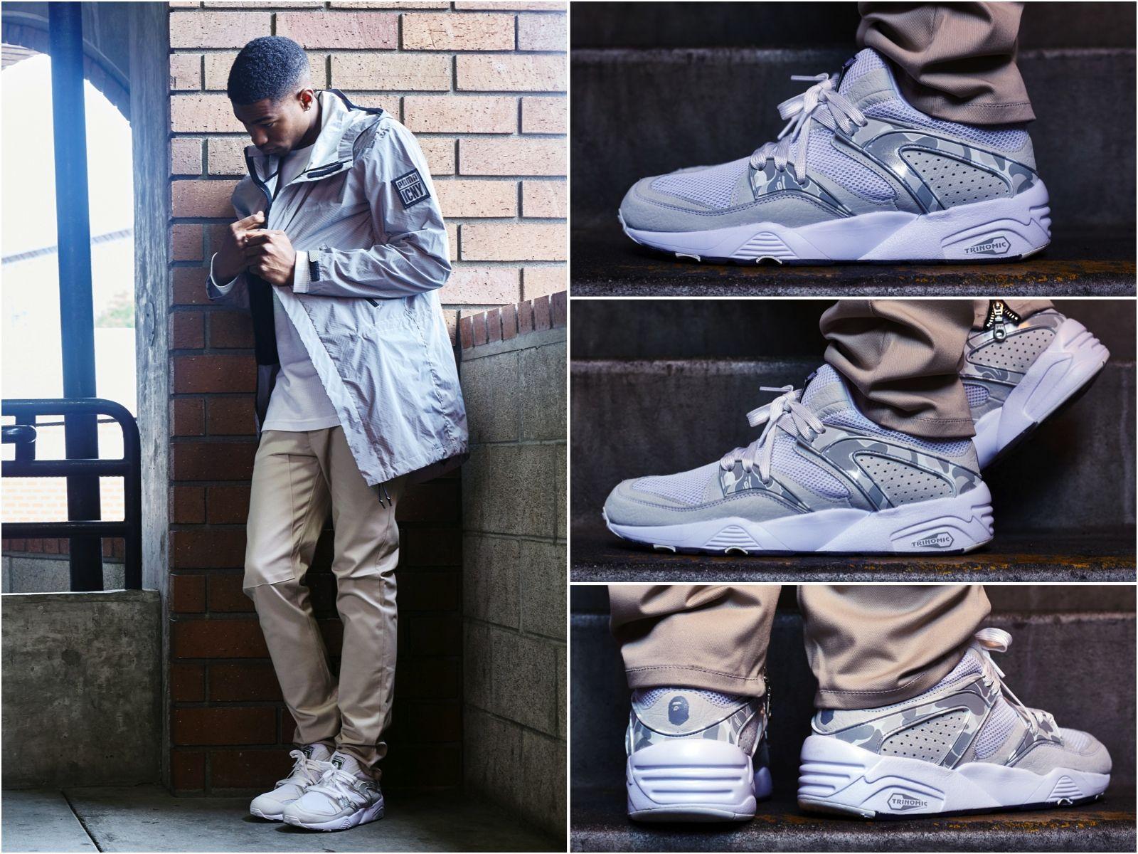 ON-FOOT LOOK // BAPE X PUMA BLAZE OF