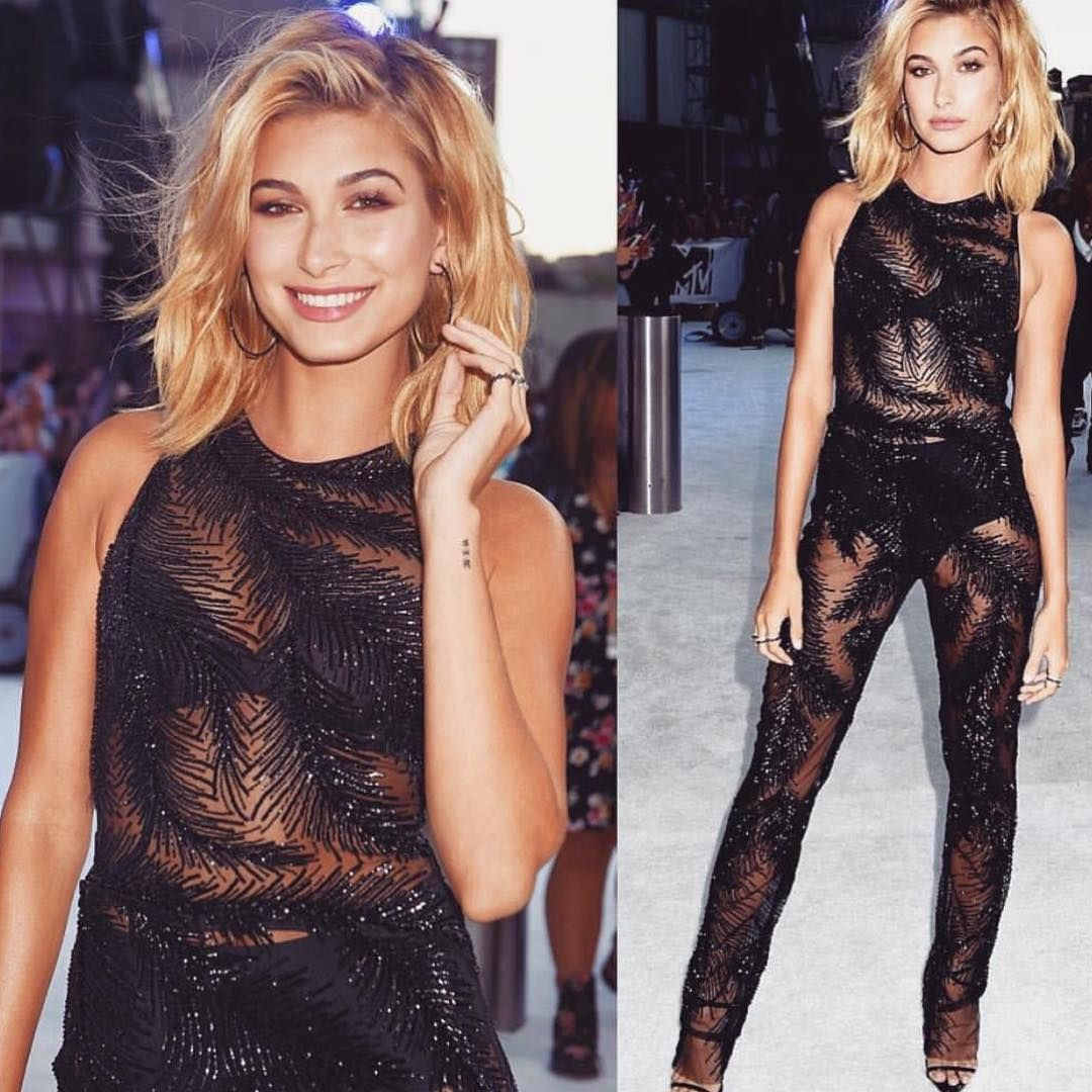 61f6ac0dd Hailey Baldwin sequin jumpsuit | Rompers, skirts and two piece sets ...