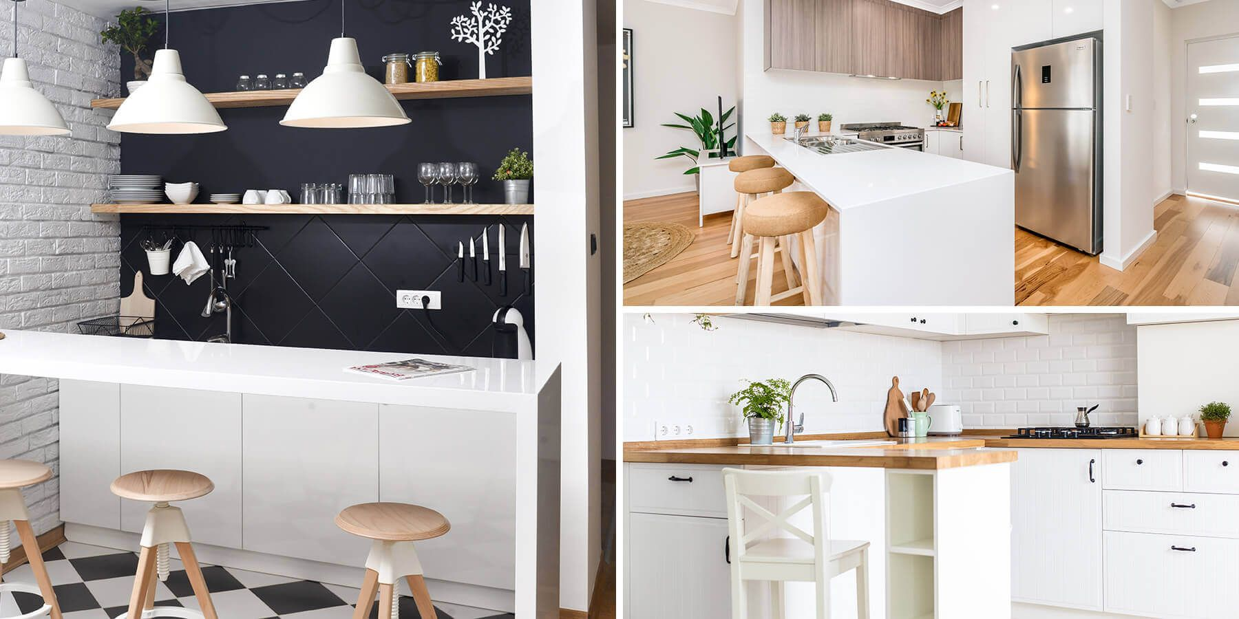 small kitchen bars are the perfect addition for extra