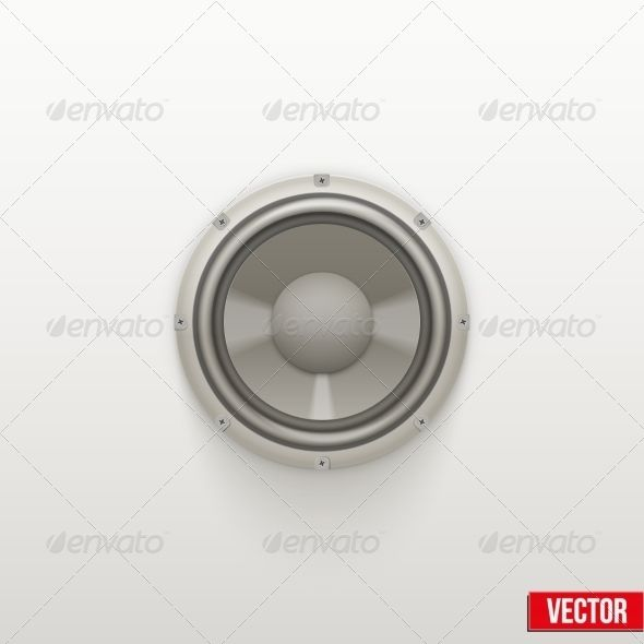 Icon Light Load Speaker Symbol Of Sound Speakers Symbols And Icons