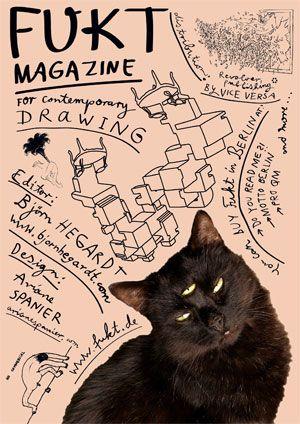 Fukt - Magazine for contemporay drawings / http://www.fukt.de