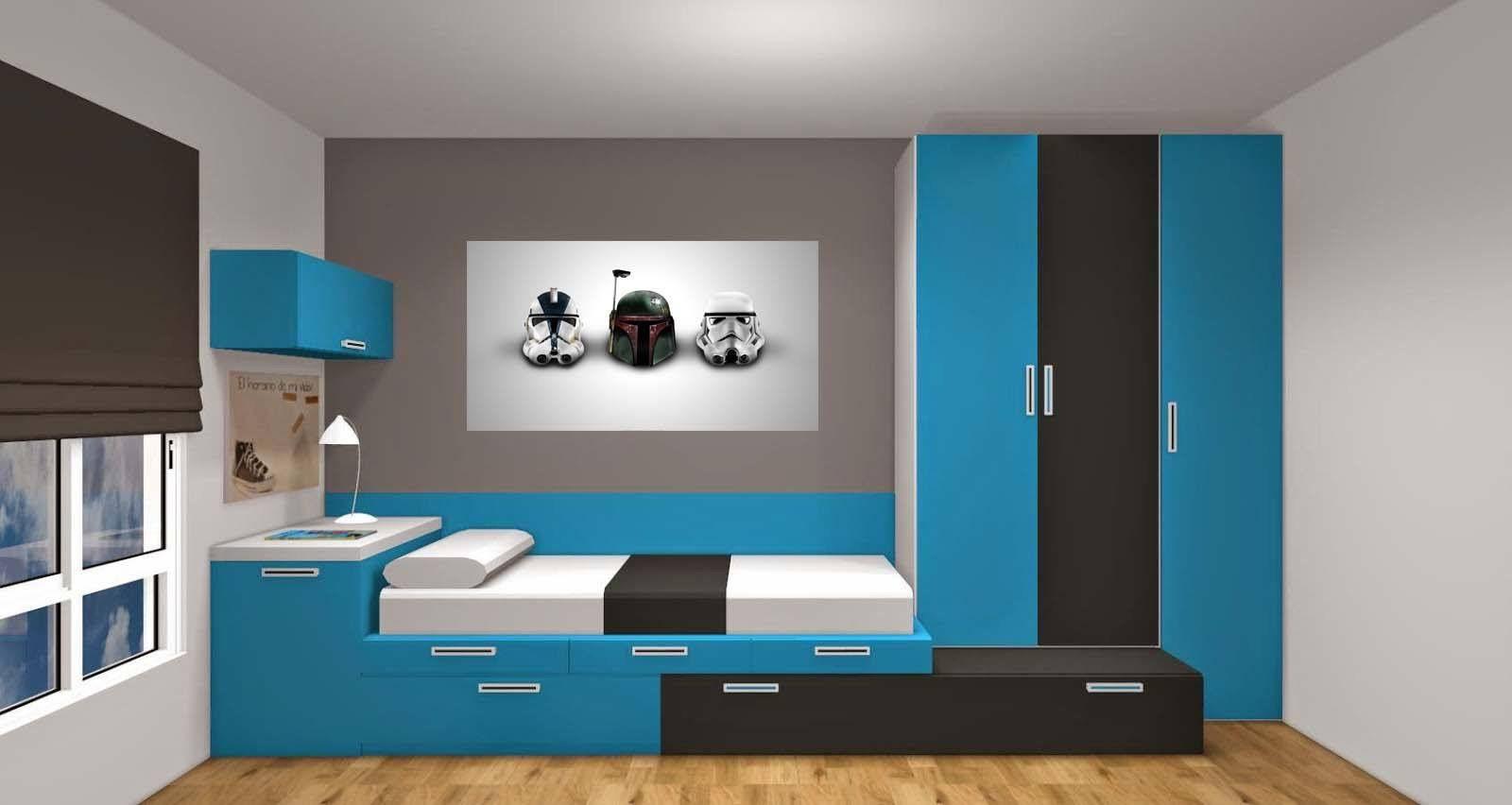 Cuadros Dormitorio Juvenil Trendy Por Defecto Y Que Combinan A La - Cuadros-dormitorio-juvenil