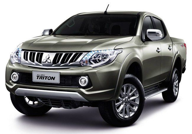 All New Mitsubishi Triton Pickup Aka Strada Launched In Thailand Mobil