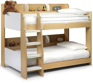Small Double Bed 4ft Child Bedroom Bunk Kids Sleep Berth Elegant