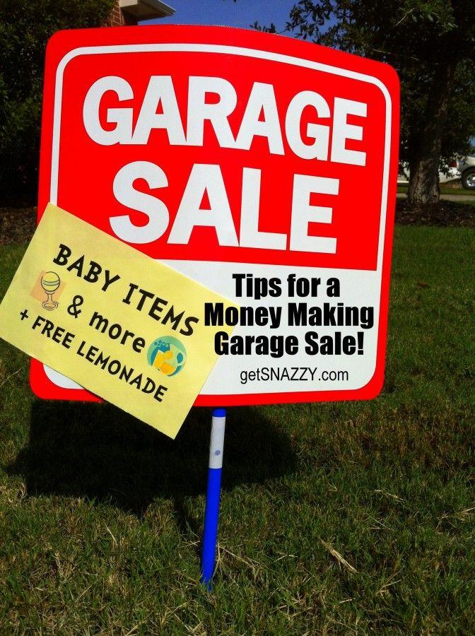 17 Best images about garage sale ideas on Pinterest   Garage sale ...