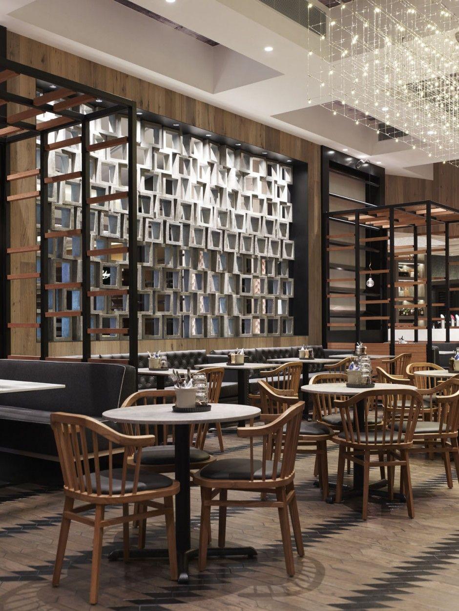Rustic Style Restaurant Design