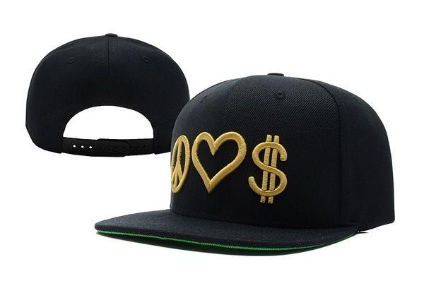 Peace Love Money Snapback Hat (1)  0938eb1fbf8c