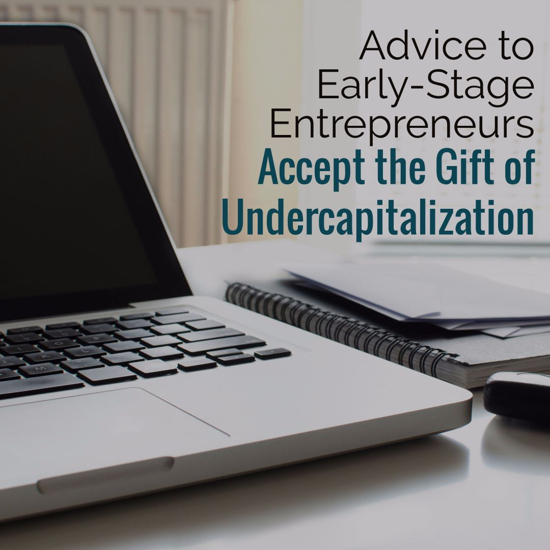 Earlystage entrepreneurs accept the gift of