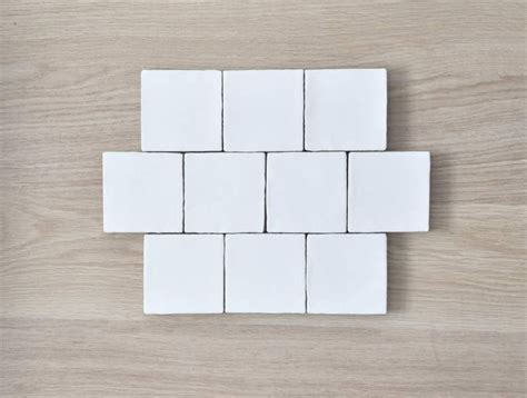 Hand Made Tile With No Grout For Backsplash At Duckduckgo In 2021 White Square Tiles White Subway Tile Backsplash White Tiles