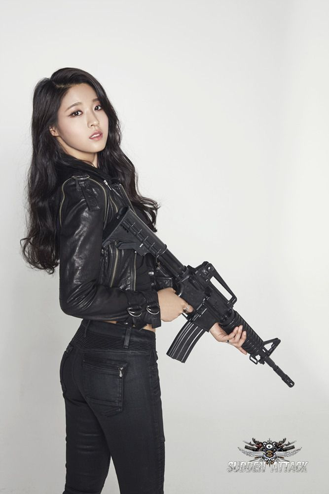 Asians with guns pics