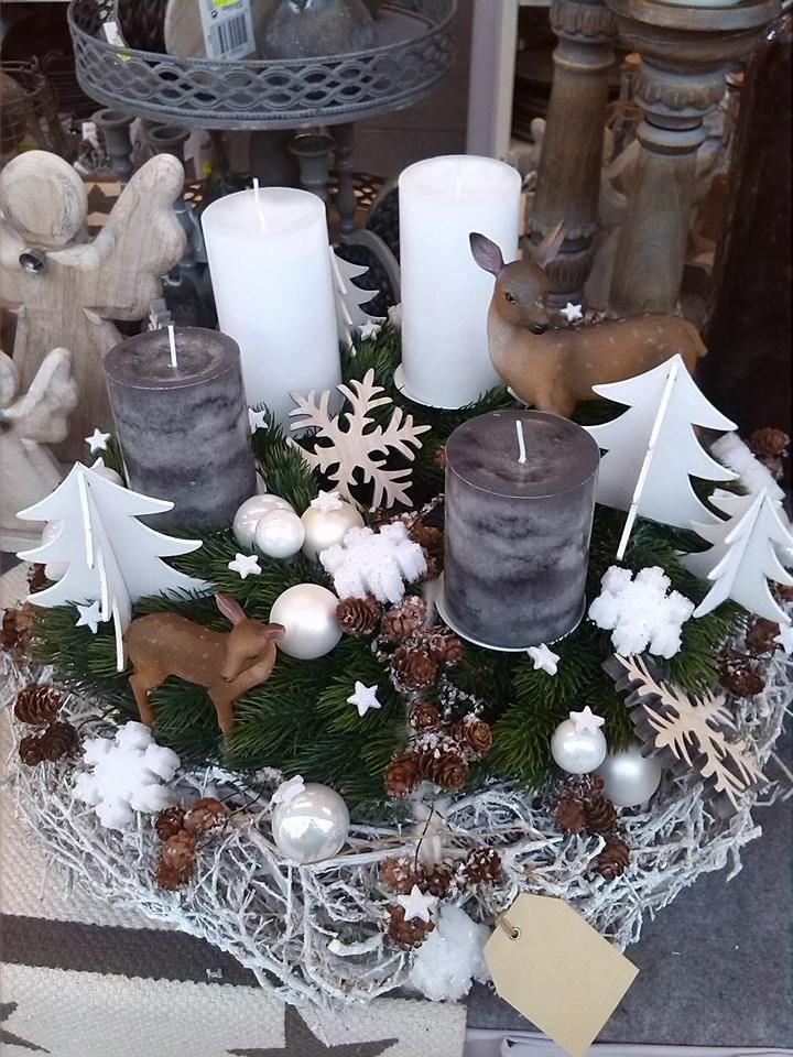 Advent Adventskranz Natur Auf Facebook Gefunden Karácsony