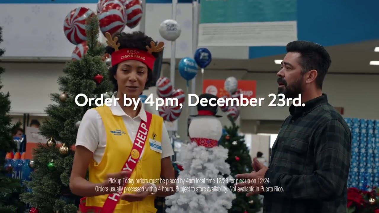rock this christmas walmart commercial youtube - Walmart Christmas Commercial