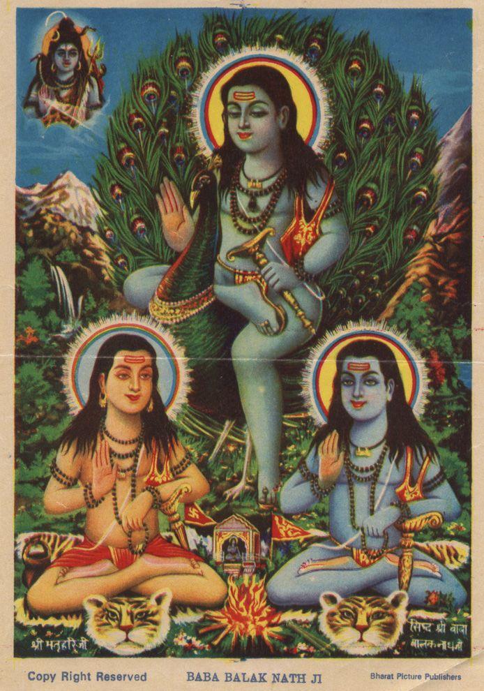 Le Cabinet De Curiosites Du Prof Zongoh Art Hindou Oiseaux A Colorier Art De Ganeshe Baba balak nath photo hd wallpaper