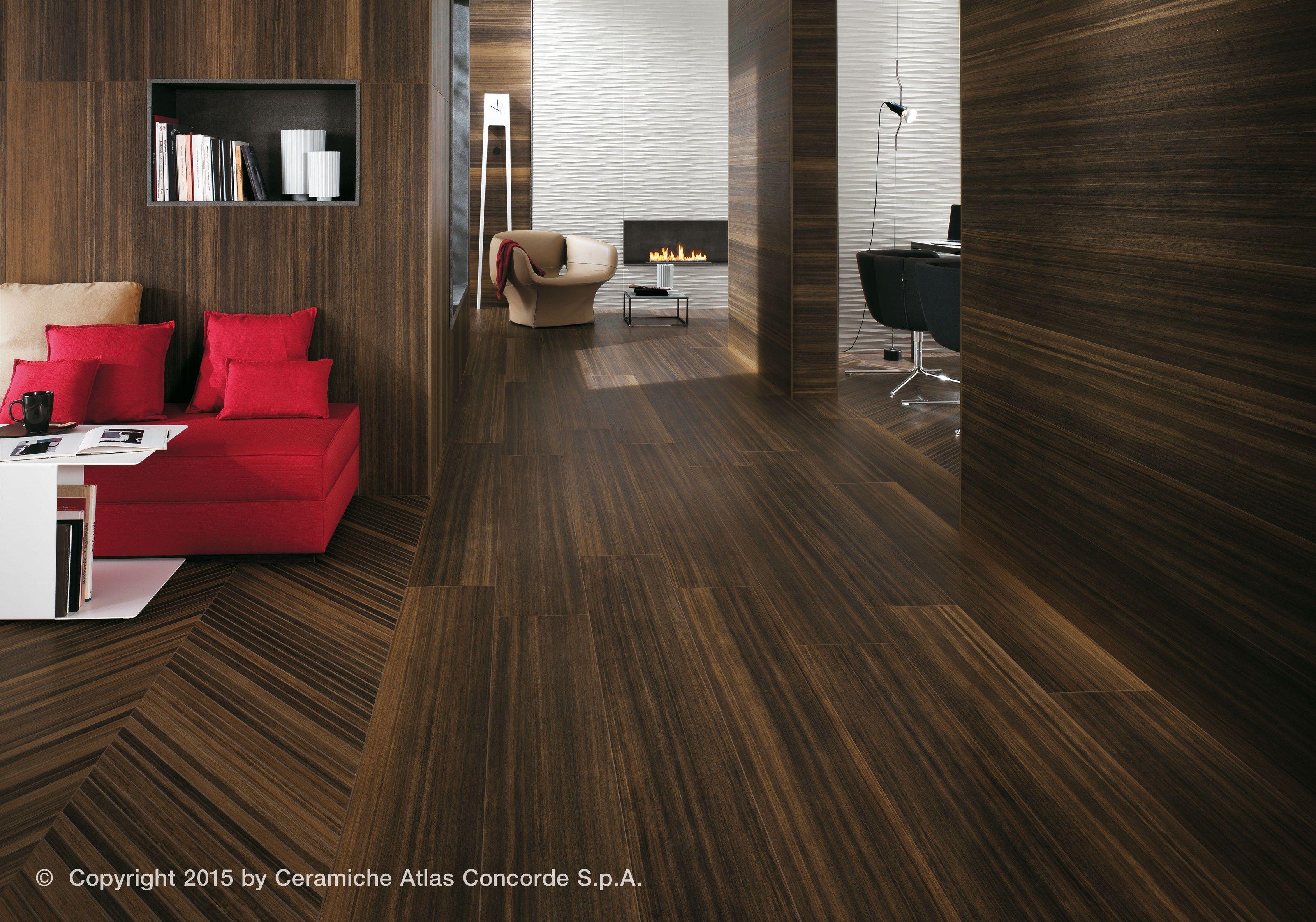 Pavimento/rivestimento in gres porcellanato effetto legno ETIC PRO ...