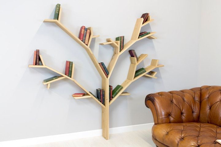 Modern Tree Shelves Playfully Designed To Hold Books On Their Branches Creative Bookshelves Unique Bookcase Tree Bookshelf
