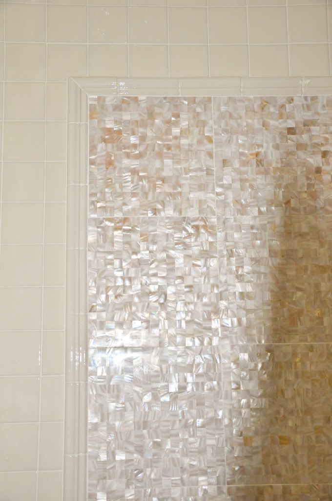 The Tile Is 20cm Troca Shell No Grout Lines And Is Factory Sealed