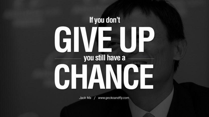 Đừng bao giờ bỏ cuộc