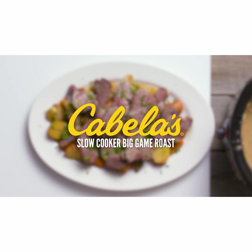 Slow Cooker Big Game Roast | Christmas Dinner Recipes | deer meat ...