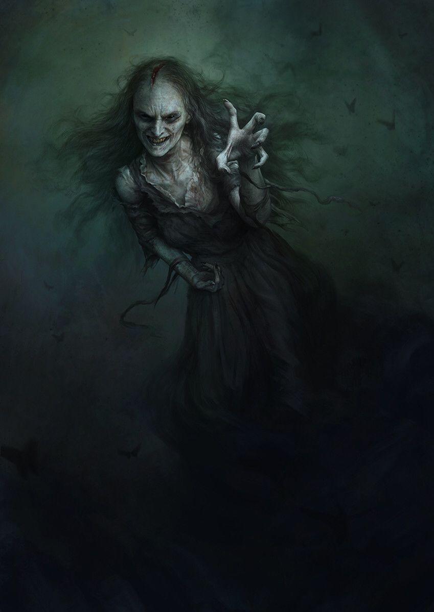 The Glorious Dark Fantasy Art and Paintings of Noah-kh