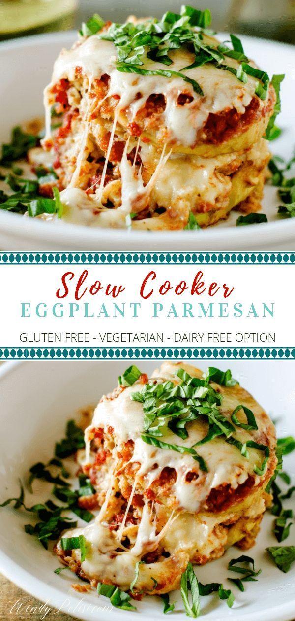 Slow Cooker Eggplant Parmesan images