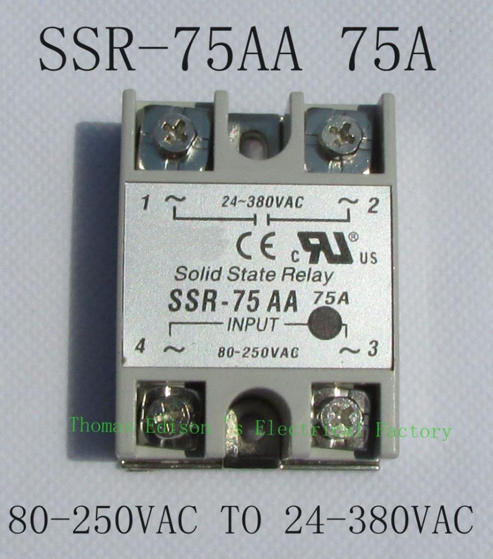 Top Brand Dmwd Solid State Relay Ssr 75aa 75a 80 250v Ac To 24 380v For Affiliate