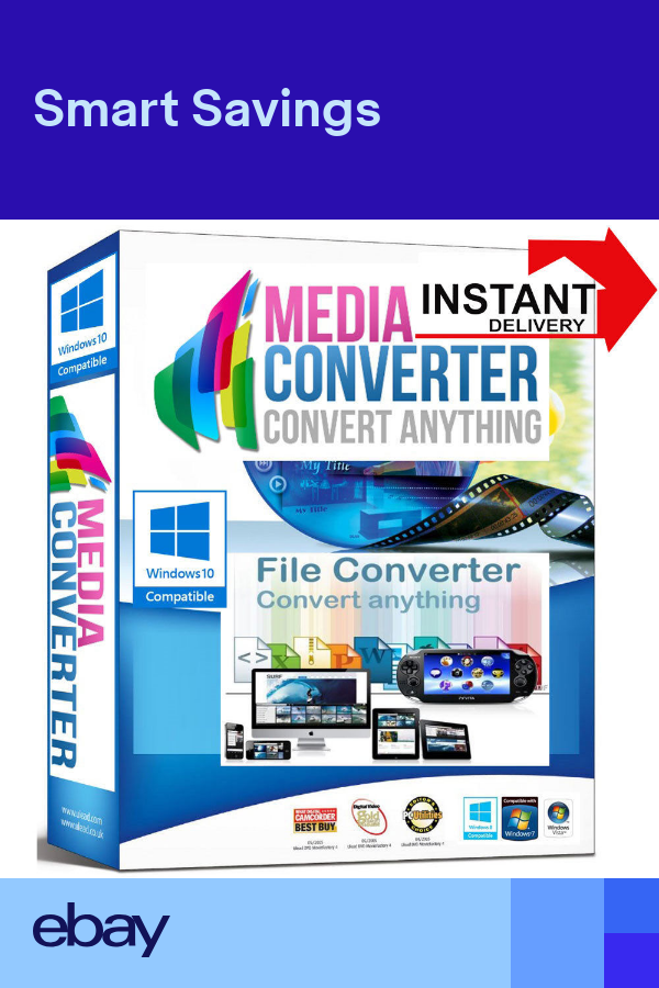Any File Video Converter To Ipad Ps Vita Ps3 Ps4 Fast Digital Delivery Download Video Converter Converter Ps Vita