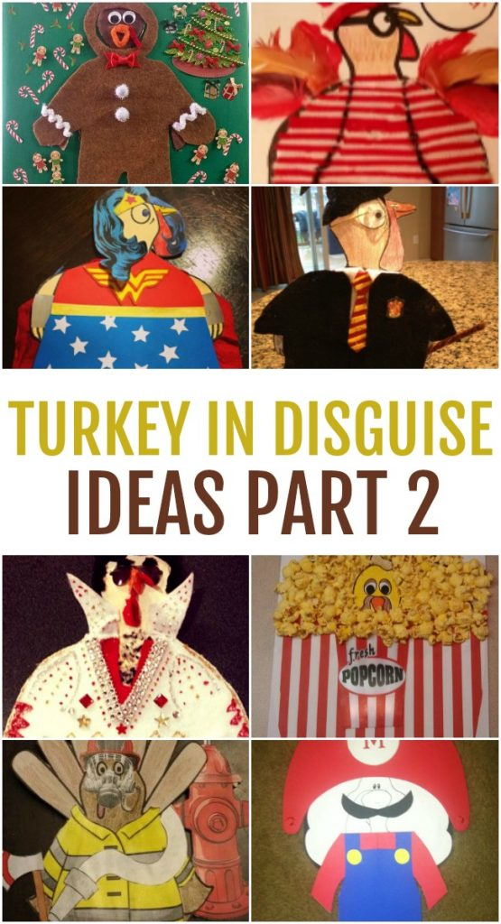 Even more Turkey in Disguise Ideas   Today's Creative Ideas