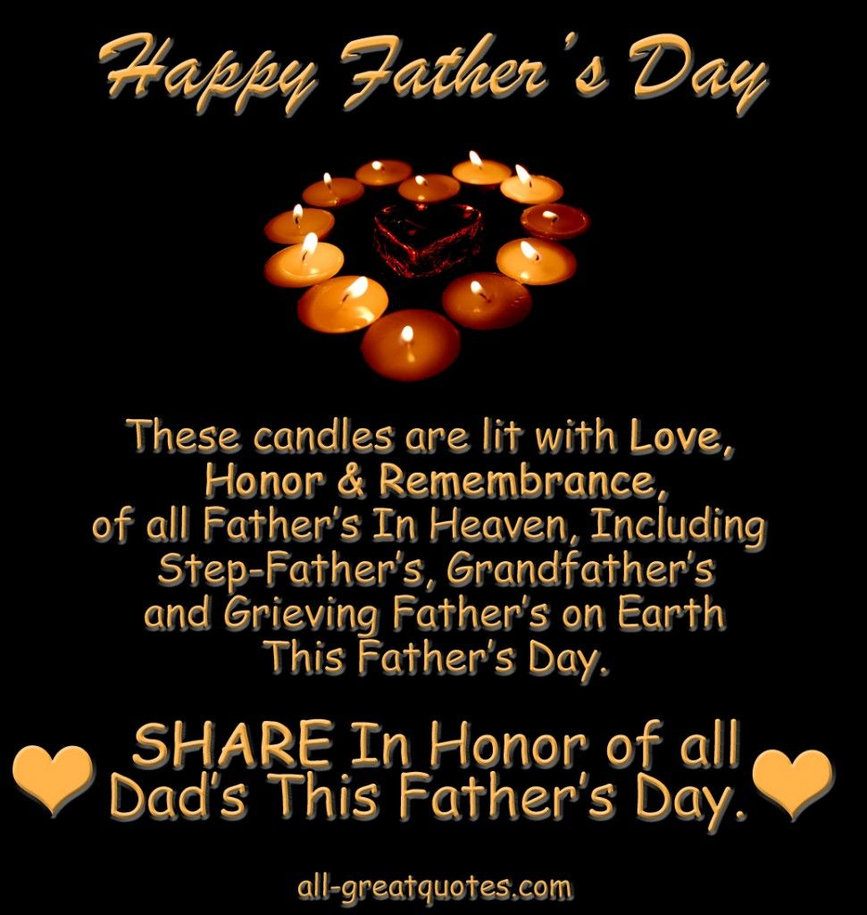 Happy Fathers Day Babe Quotes: In Loving Memory Picture Cards For Dad On Fathers Day